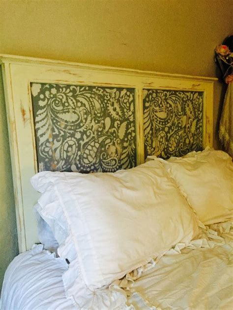 56 best images about stenciled headboard ideas on