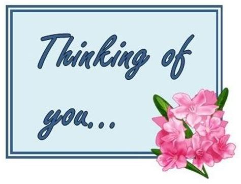 card template thinking of you exle of thinking of you card