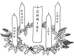 advent coloring pages catholic icing november 2009