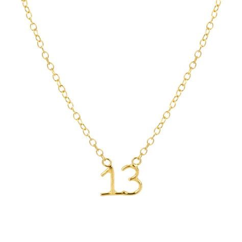 Laura Gravestock Jewellery   Written Lucky Number Necklace   by Laura Gravestock