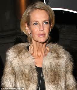women with turkey neck pictures ulrika jonsson s neck shows the strain of her recent