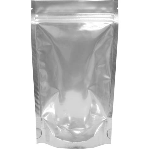 Standing Pouch Alufoil Emas 500 Zipper the bag broker uk 100g stand up pouch with zip black clear
