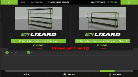 placeable shelving v 1 1 fs 17 farming simulator 17 mod