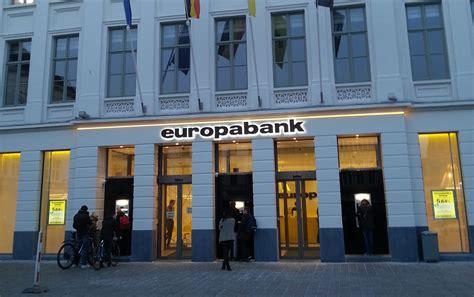 europa bank reli 235 fletters europabank gent total concept