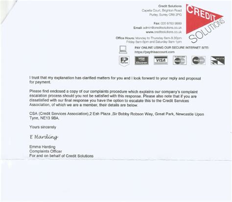 Letter Credit Forum Getoutofdebtfree Org Letters From Credit Solutions Help