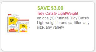 printable coupons for cat food and litter new 3 tidy cats lightweight brand cat litter coupon