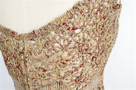 Pashmina Chiffon Motif Kawung badgley mischka gown stunning dtls fabric beading w shawl