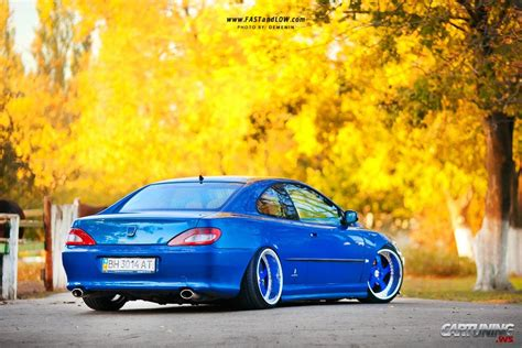 peugeot 406 coupe stance stanced peugeot 406 coupe 187 cartuning best car tuning