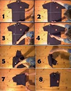 clothing best way to fold a shirt for a lazy bachelor