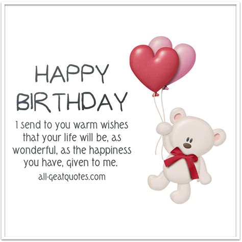 How Do You Send Birthday Cards On Happy Birthday I Send To You Warm Wishes Birthday Cards