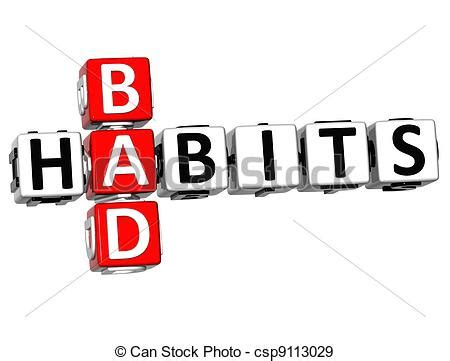 holistic fixes for your bad health habits doctor oz bad habits clipart