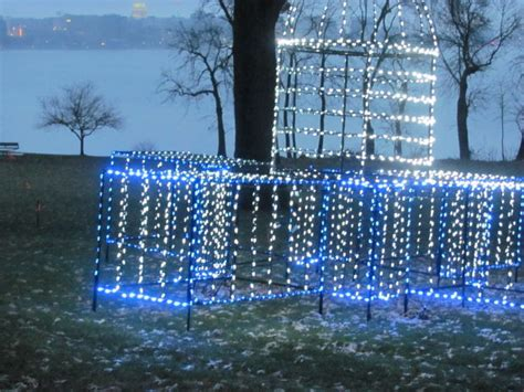 olin park holiday fantasy in lights show not just for