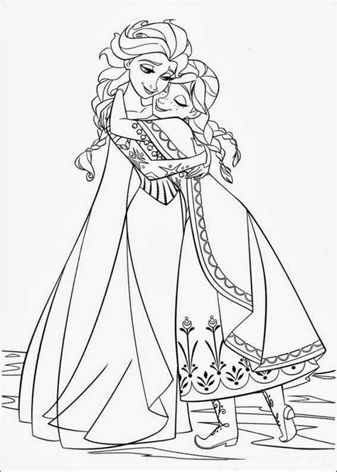 Fun Coloring Pages: Frozen Coloring Pages