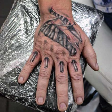 hands skin rip tattoo designs on men imagens pinterest