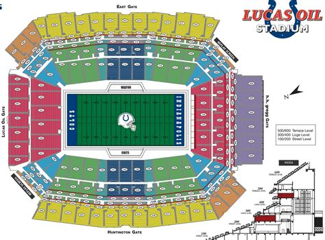 Stadium Seating by Lucas Stadium Colts Seating Chart