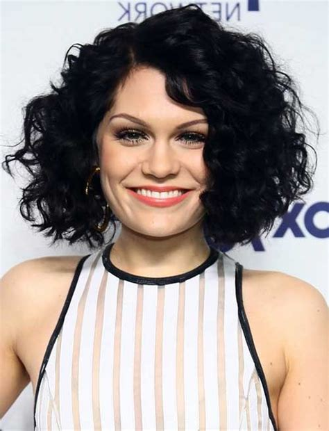 round face curly bob best curly short hairstyles for round faces short