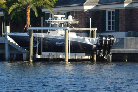 elevator boat lifts custom elevator boat lifts in south - Hurricane Boats Lifts