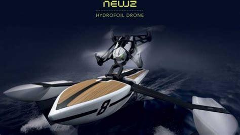 droni volanti parrot hydrofoil l aliscafo volante e i 12 mini droni