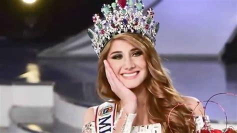 miss tattoo venezuela 2015 ganadora mariam habach rumbo al miss universo 2016 favorita youtube