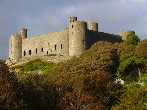 Harlech Castle Cottage by Wales Day Five Royal St David S Golf Club Royalty