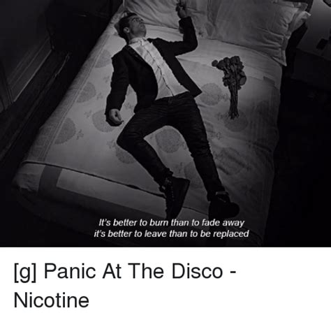 Burning The Nicotine Armoire Lyrics by Panic At The Disco Memes Of 2016 On Sizzle