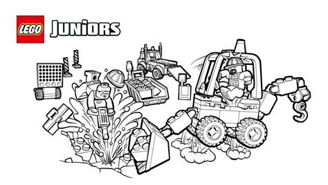 nedlasting filmer playmobil the movie gratis lego juniors racetrack tow truck coloring page coloring
