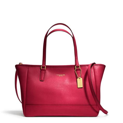 And The Citytote by Lyst Coach Crossbody City Tote In Saffiano Leather In