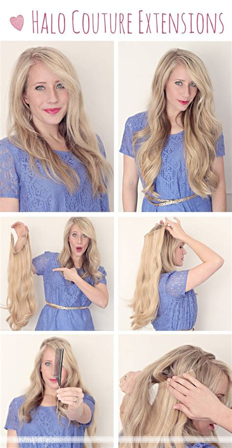 halo hair how to put in 15 best ideas about hair extensions on pinterest halo