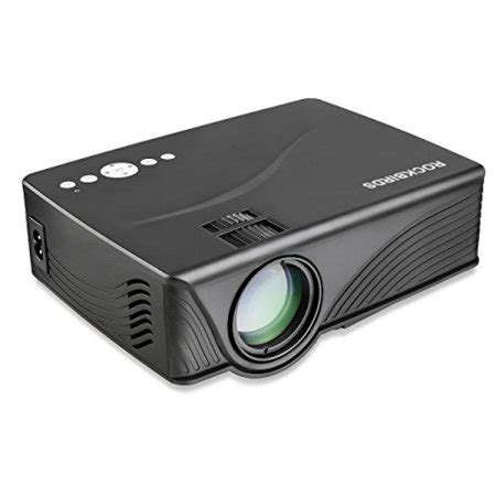 video projector rockbirds led video projector support sd