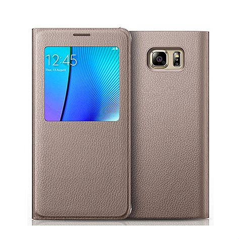 Flip Cover Leather View Flip Cover Samsung Galaxy J2 Prime flip window view leather phone cover for samsung