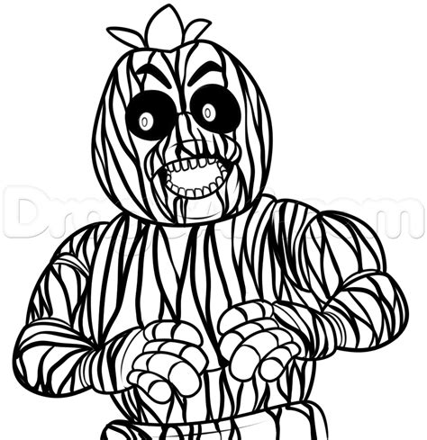 Five nights at freddys 3 coloring pages printable coloring pages