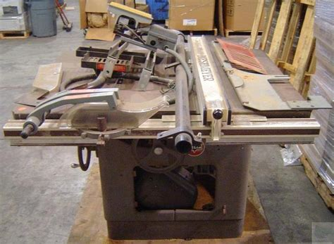 rockwell table saw parts rockwell delta manufacturing unisaw table saw and fence system parts ebay