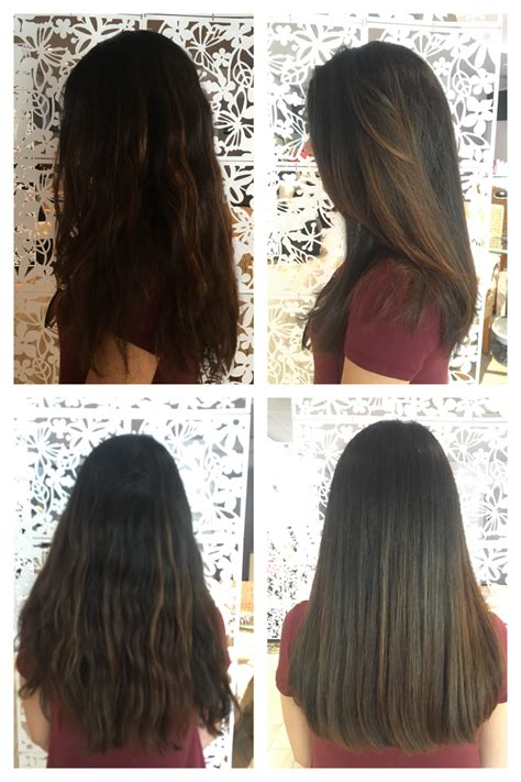 layered vs non layered hair below the shoulder one length haircut no layers my