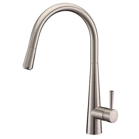 Pull Out Kitchen Faucet Reviews by Arian Luna Single Lever Kitchen Tap Brushed Steel