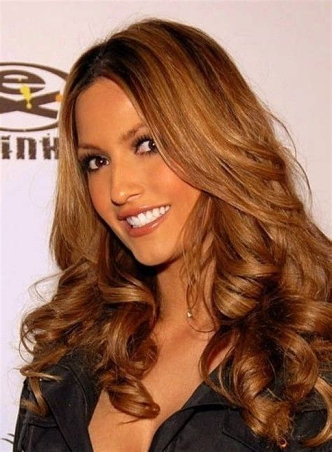 Hair Color For Fall Hello Golden Browns And by Golden Brown Hair Color Of Highlight For Fall Hair