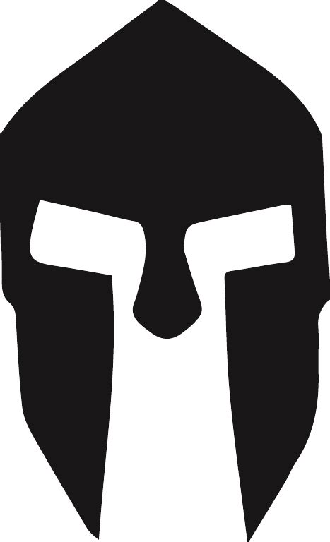 Galerry spartan head clip art