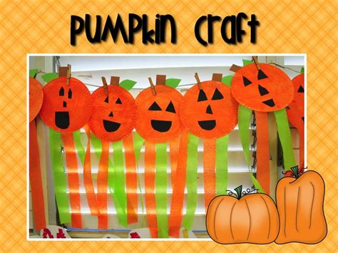 october crafts for preschool unit study pumpkin craft october crafts