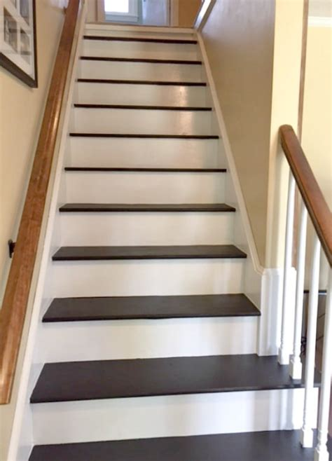 Steintreppe Streichen by How To Remove Carpet From Stairs And Paint Them