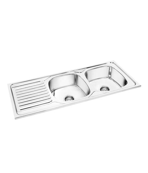 Kitchen Sink Drain Board Buy Deepali Kitchen Sink Bowl With Drain Board At Low Price In India Snapdeal
