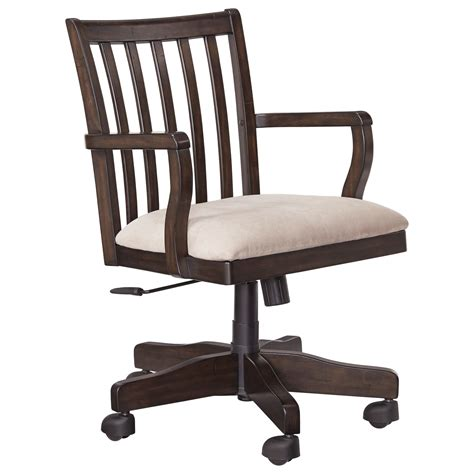 desk chair signature design townser h636 01a home office