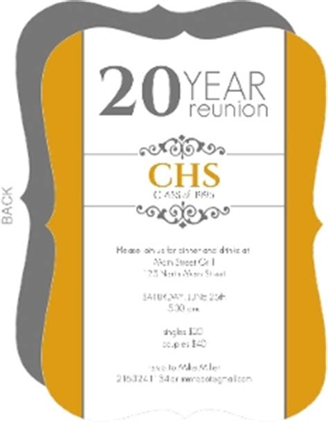 reunion invitation card templates cheap custom reunion invitations inviteshop