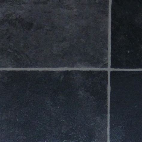 Bathroom Carpet 2m Wide Fusion Black Slate 2m Wide Vinyl Lino Cushion Flooring