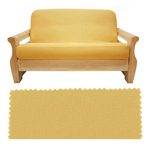 canvas futon covers brushed sunflower canvas futon cover buy from