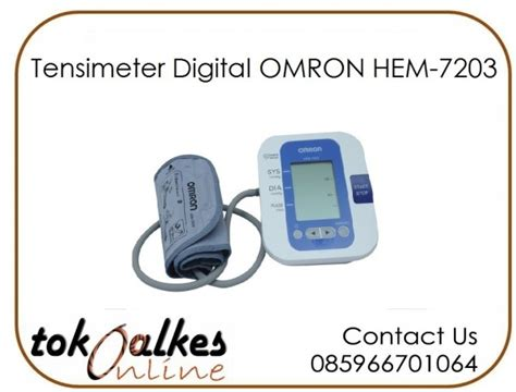 Tensimeter Digital Omron Hem 7203 toko jual tensimeter omron murah toko alat kesehatan