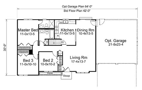 1200 sq ft house floor plans ranch style house plan 3 beds 1 baths 1200 sq ft plan