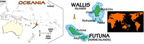 wallis and futuna map wallis and futuna map and information map of wallis and