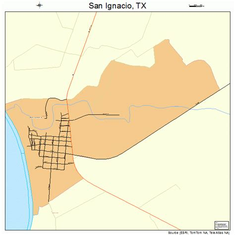 san diego texas map san ignacio texas map 4865426