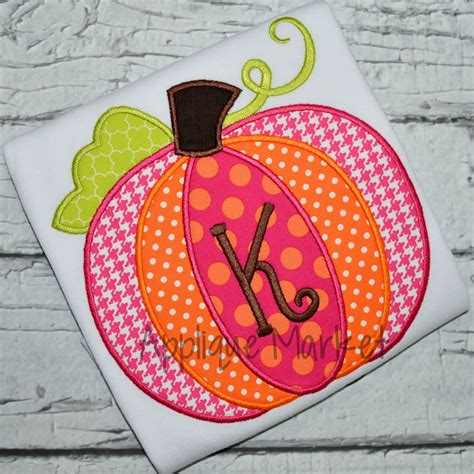 Applique Patchwork Designs - pumpkin patchwork