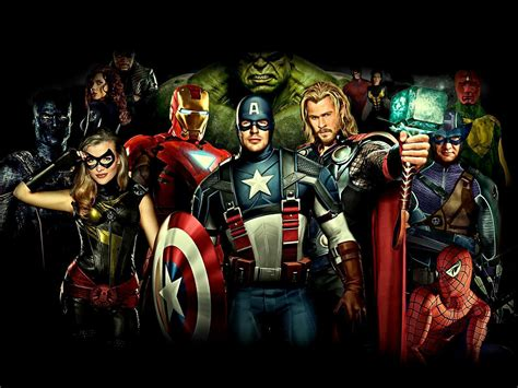 hd wallpapers for pc avengers avengers wallpapers hd wallpaper cave