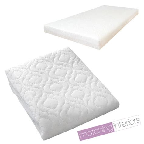 Breathable Cot Bed Mattress by Quilted Baby Cot Bed Mattress Fully Breathable 140 X 70 X 5cm Cover Only Ebay